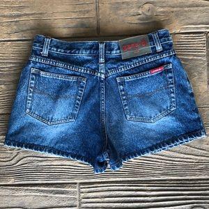 Vintage Zana Di High Waist Denim Shorts Size 30